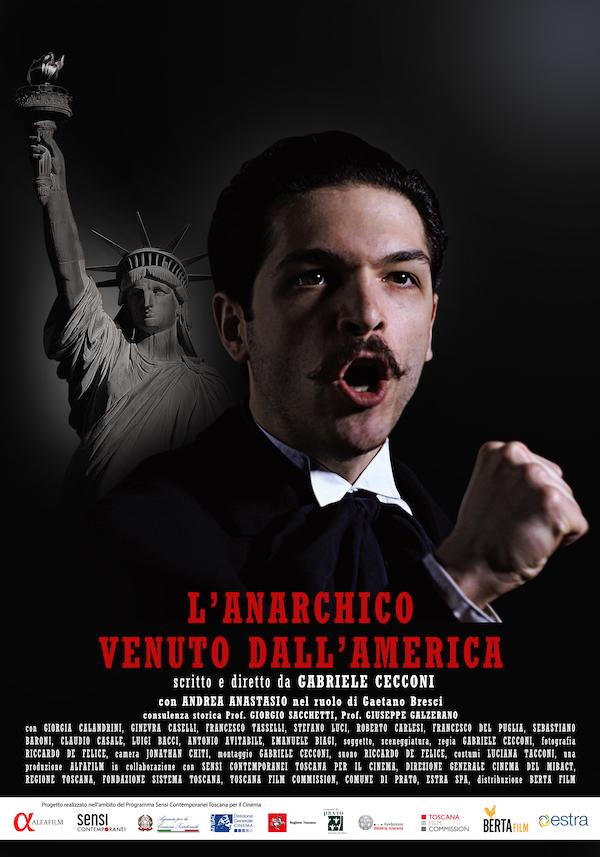 La locandina del film L'anarchico venuto dall'america